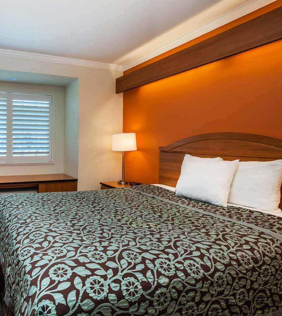 GUEST ROOMS DESIGNED FOR COMFORT